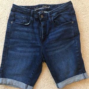 Universal Thread Cuffed Denim Shorts 8/29